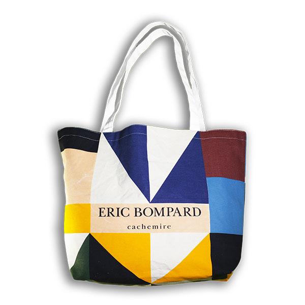 Tote bag personnalisable en coton pour la marque Eric Bompard