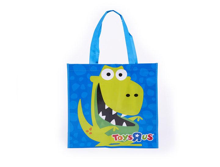 sac polypropylene personnalise sac reutilisable pour la marque Toy U Rus