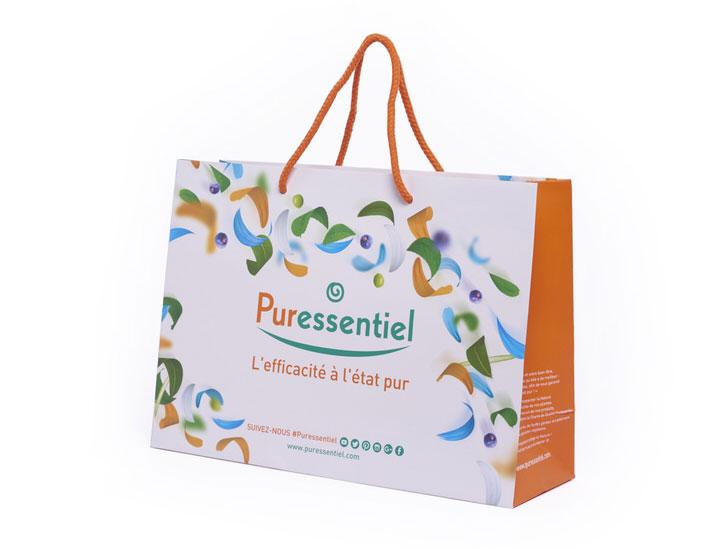 sac papier luxe personnalise petite taille pour la marque remy cointreau