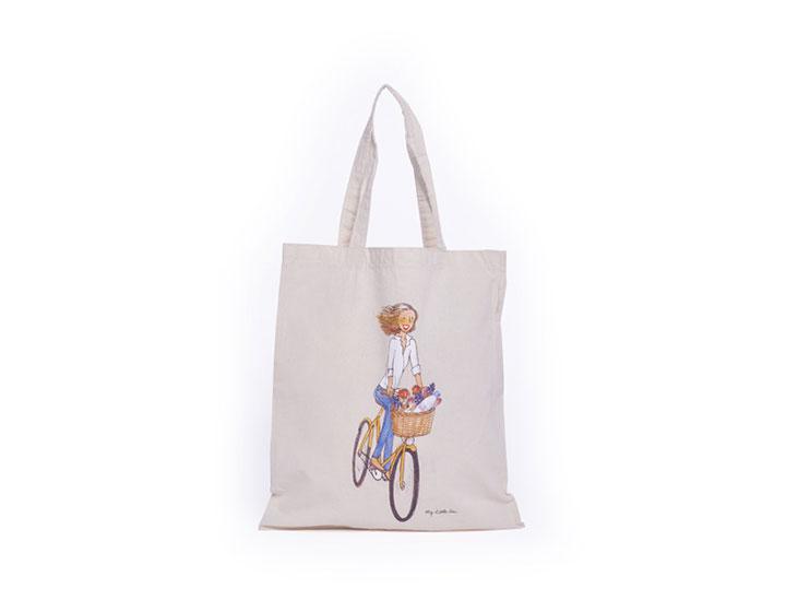 Tote bag publicitaire type sac coton publicitaire personnalisé pour la marque My Little Box