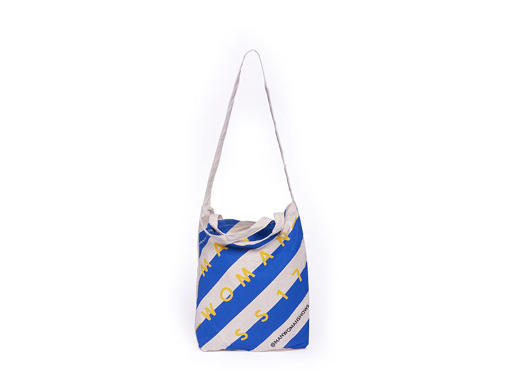 Tote bag publicitaire type sac coton publicitaire personnalisé et sur-mesure pour la marque Man Woman
